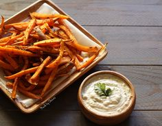 Batata doce no forno | Sweet Potato Fries - Made by Choices