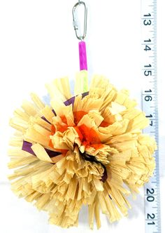 Crunchy Hedgehog - Bird Toy by A Bird Toy - Parrot Toys  Toy Making Parts. $5.75, via Etsy.