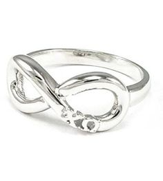 Infinity Greek Letter Ring – Chi O Creations