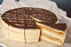 Citromhab: Mézes krémes torta