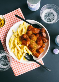 Currywurst is a popular German dish, and a staple of fast-food eating in the country. Its influence is so far-reaching that the dish is even served at McDonald's, and is almost always accompa…