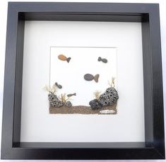 Scottish pebble art picture: Fish/underwater by PebblePictures