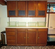 The joy of basement laundry Basement Laundry, Laundry Room, Kitchen Essentials, Home Goods, Kitchen Cabinets, Lounge, Joy, House Styles, Furniture