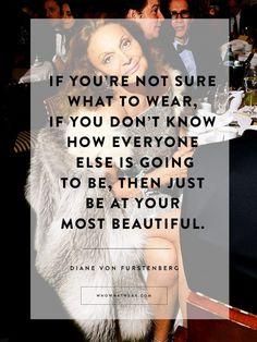 Diane von Furstenberg's Best Quotes
