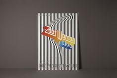 Plakatdesign: Die Registratur - Zoot Woman    Designbüro Designliga (München)
