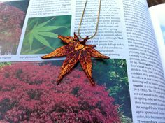 Just bought this !!!  Real  Maple Leaf Jewelry Japanese Maple