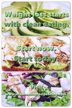 Want to lose weight? Then stop eating junk! Try fresh, clean and delicious meals with little or no preservatives. Not only will you lose weight, you'll make a healthy lifestyle change! #cleaneating #cleaneatingdiet #cleaneatingrecipes