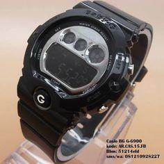 Casio BG-6900 (Black Silver) Merk   Casio Baby G Kualitas   Kw super Tipe    Unisex (Pria dan Wanita) Diameter   4 cm Bahan  Rubber Display   Digital  Fitur ... e197afcb5f