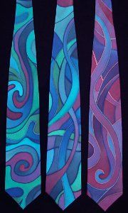 Abstract Art Ties