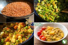 Kuchařka ze Svatojánu: červená čočka Garam Masala, Guacamole, Cobb Salad, Macaroni And Cheese, Grains, Rice, Mexican, Ethnic Recipes, Food