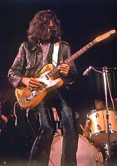who plays a telecaster | Jimmy Page And His Fender Telecaster Equipped With The Gene Parsons ...