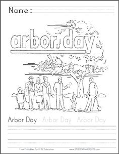 92 Best Arbor Day Activities images Arbour day