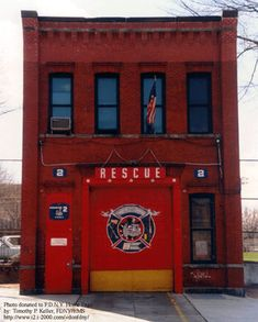Supreme Sacrifice Day - FDNY Rescue 2 lost seven members on Fire Dept, Fire Department, Ghostbusters Firehouse, Firefighter Photography, American Firefighter, Lego Fire, Engine House, Fire Equipment, Fire Apparatus