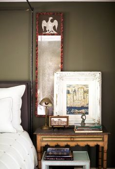 The Prettiest Inspiration for Your Nightstand Styling via @domainehome