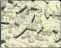 Inside the Sketchbooks of Mattias Adolfsson