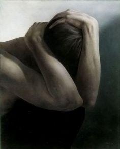 Truls Espedal | Whispering II. Acrylics on canvas.