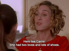 Carrie's hair