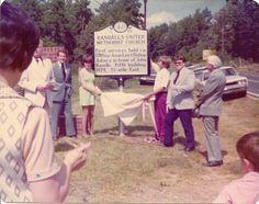Randall UMC sign on Indian Mound Road