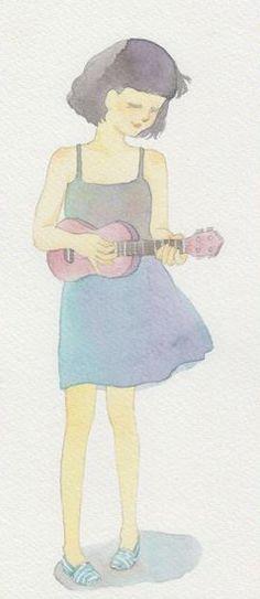 Ciao Ciao @ Chiangmai : A Girl and Ukulele