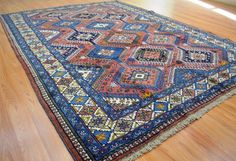 6'7x9'2 Fine Rare Authentic Persian Bijar Yalameh Tribal Handmade Wool Area Rug For questions please contact David at 516.607.0070 Condition: Very good for its age. PLEASE SEE ALL PICTURES-THEY ARE IMPORTANT PART OF THE DESCRIPTION. WE TRY TO TAKE PHOTOS OF THE RUGS AS ACCURATE AS POSSIBLE HOWEVER, COLORS MAY VARY DUE TO PHOTOGRAPHY AND DIFFERENCES IN MONITOR SETTINGS. Payment: PayPal Visa/MasterCard Amex Discover.IF YOU ARE NOT HAPPY WITH YOUR PURCHASE PLEASE CONTACT US BEFORE L...