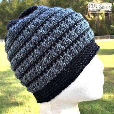 """So Good, You'll """"Borrow"""" it Beanie - ELK Studio - Handcrafted Crochet Designs"""