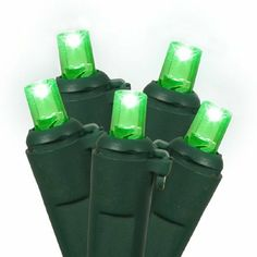 12 green wide angle replacement christmas lights by gordon companies inc 1800 please