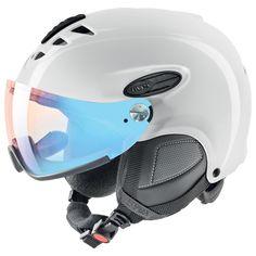 Uvex Hlmt 300 Vario Winter Sports/Ski Helmet w/Visor - 566203 (black mat - Ski And Snowboard, Snowboarding, Skiing, Ski Helmets, Helmet Design, Bicycle Helmet, Van, Black, Waterfalls