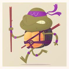 #illustration #ninjaturtles #MattKaufenberg