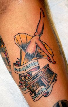 The Gaslight Anthem tattoo