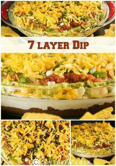7 layer dip