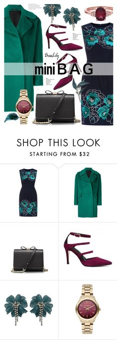 """""""Mini Bag - dresslily 12"""" by cly88 ❤ liked on Polyvore featuring Tagliatore, Lanvin and Karl Lagerfeld"""