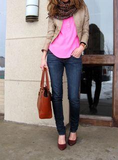 pink / cognac / beige / leopard :: member @Lilly