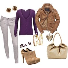 """Purple"" by misssglamour on Polyvore"