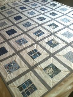 Doctor Who baby quilt - finished top | Flickr - Photo Sharing!