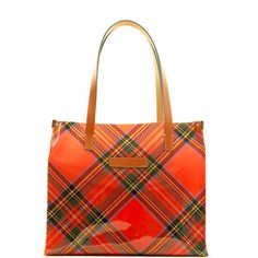 Dooney & Bourke: Clear Totes Tartan Medium Shopper