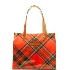 Dooney & Bourke: Clear Totes Tartan Medium Shopper