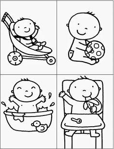 kleurplaat hoera een dochter kleurplaten nl baby
