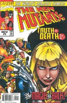 The New Mutants - Truth or Death 1 2 3 complete set ---> shipping is $0.01!!!
