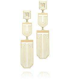 chandelier earrings | Tory Burch