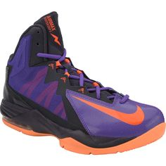 Fake 'em out in the NIKE Air Max Stutter Step 2 men's mid-cut basketball shoes. The split-toe design enhances your foot's natural flexibility so you can make magic moves, while Max Air cushioning technology provides springy shock absorption for sky-high jumps.
