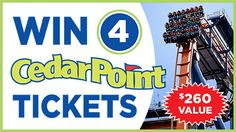 WIN Cedar Point Tickets ~ Sign Up Today at http://maxvaluesmag.com/findit/