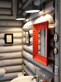 Дизайн дома из оцилиндрованного бревна