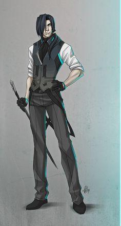 OC: Who Loves Neon Blacklight by ninjafaun