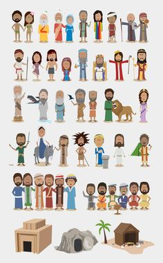A very cute illustration of some of the most important stories from the bible. While it's not comprehensive, it would make a handy reference chart in a classroom when discussion allusion. I'd love to see a companion poster for Greek mythology, and the major works of Western Literature.