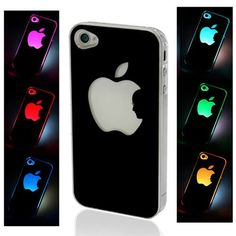 Light cover for the iPhone 4 that changes color when you receive a call or get a text. This is insanely awesome!
