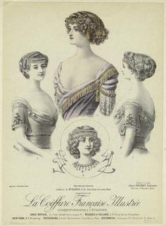 La coiffure française illustrée. (1911)