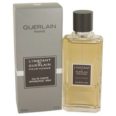 New #Fragrance #Perfume #Scent on #Sale  L'instant by Guerlain 3.4 oz / 100 ml EDT Spray - L'instant de Guerlain Pour Homme was introduced in 2004 as a unique men's fragrance. Warm, sexy and masculine blend of citrus, hibiscus, patchouli and badian crystals. L'instant de Guerlain Pour Homme is recommended for daytime wear.. Buy now at http://www.yourhotperfume.com/l-instant-by-guerlain-3-4-oz-100-ml-edt-spray.html