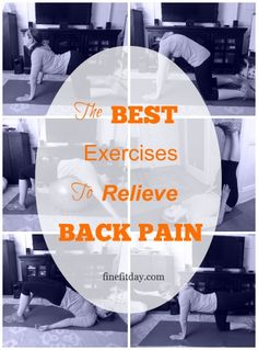 I've had a few clients who have had chronic back pain. There are several exercises I would program as a warm up and a cool down before their sessions. The same moves also work well for pregnant women trying to relieve back discomfort caused by their growing bump. So it's no surprise that these are the exercises I turned …