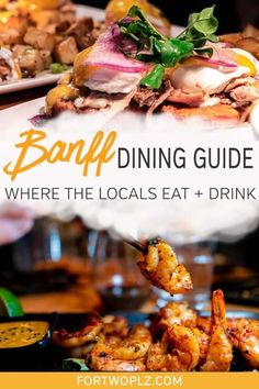 Where to eat in Banff National Park? Read this Banff Food Guide to find out the best places to eat in Banff. From premium Alberta steak to iconic Canadian pastry (BeaverTails), explore the best restaurants you MUST try when traveling to Banff. You also do not want to miss the foodie festivals happening throughout the year! #foodguide #foodtravel #culinarytravel #banff #canadaroadtrip #canadianrockies