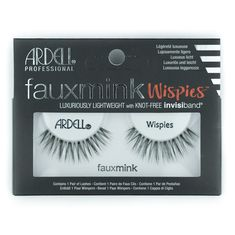 Ardell® Faux Mink Strip Lashes - Wispies #minklashes